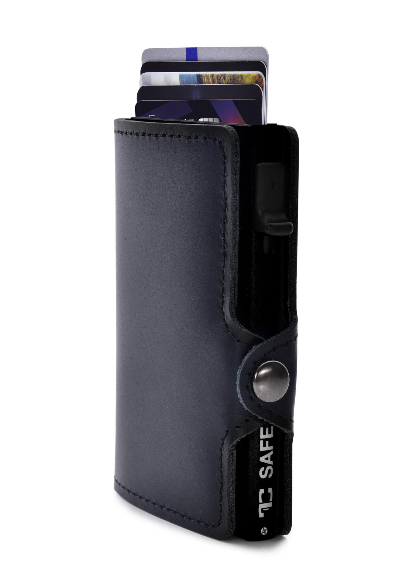 FC SAFE kožená peněženka, pro ochranu platebních karet