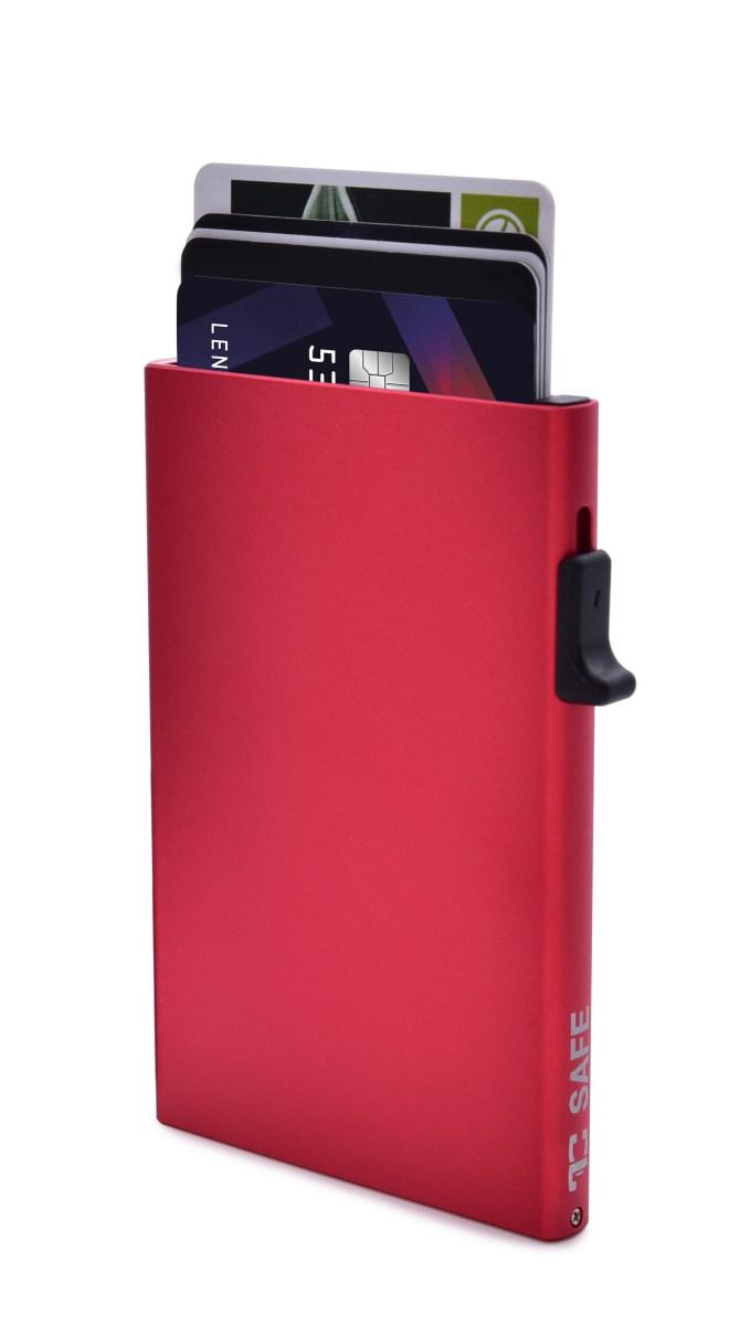 FC SAFE ochranné pouzdro pro ochranu bezkontaktních platebních karet red