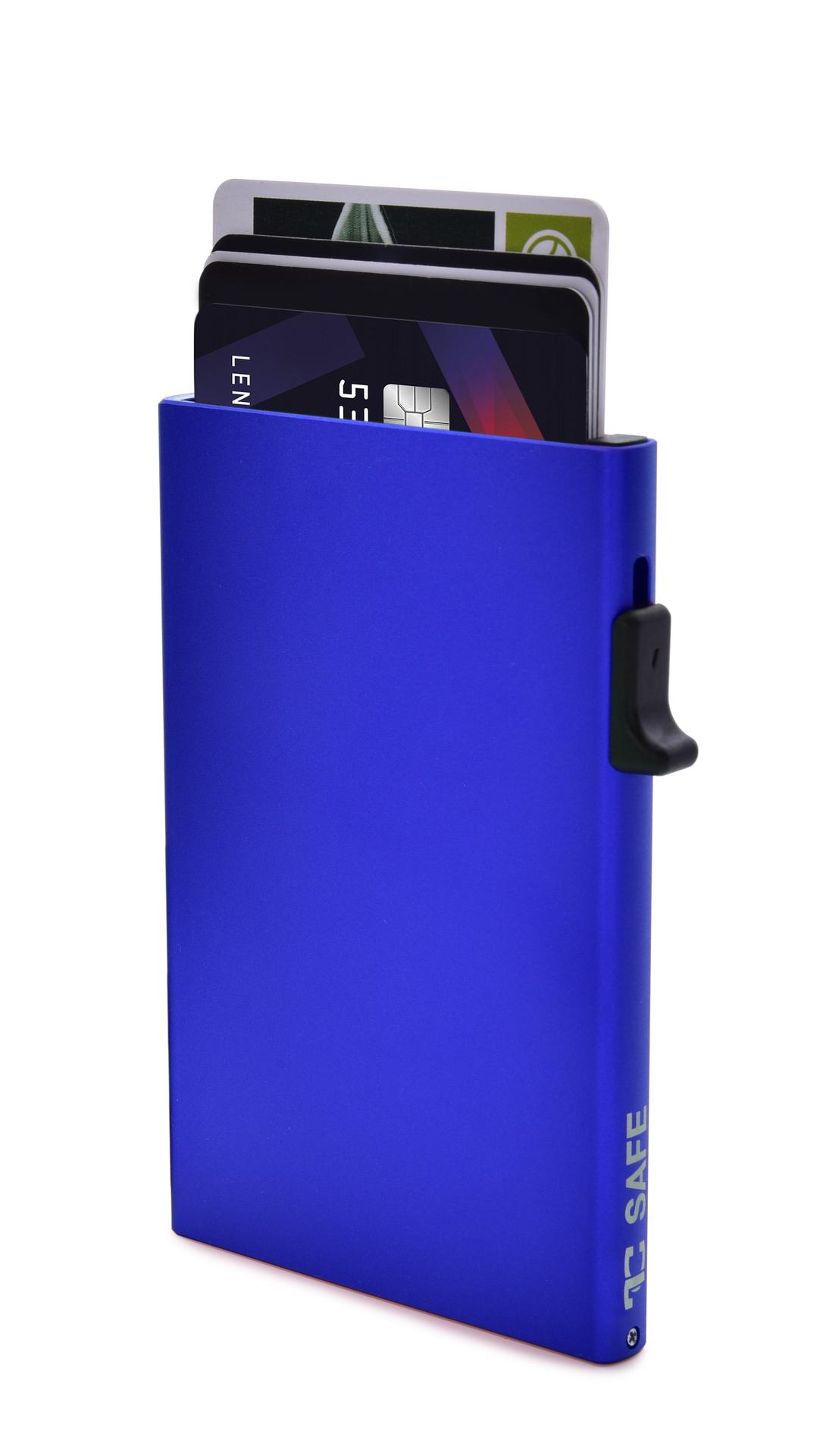 FC SAFE ochranné pouzdro  pro platební karty blue