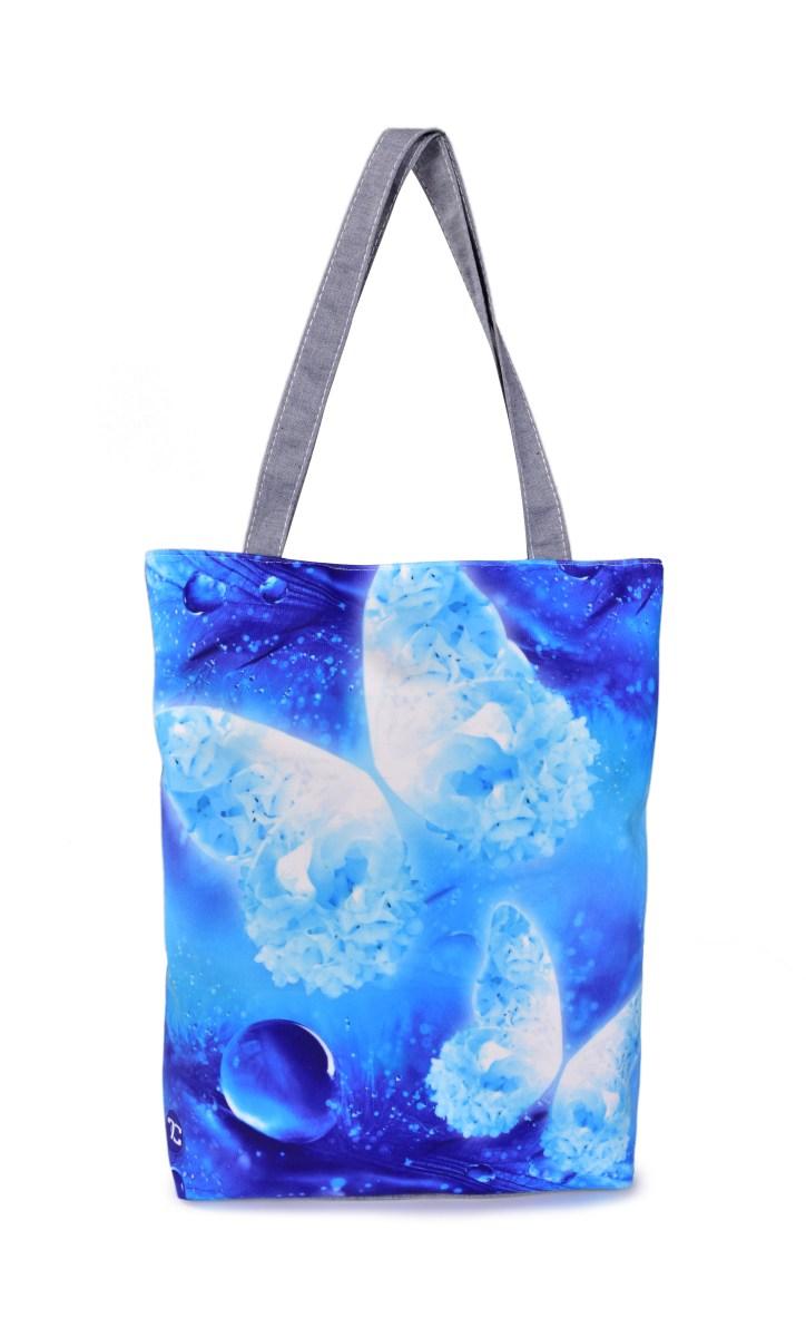 FC ELEGANT textilní kabelka/taška modrá
