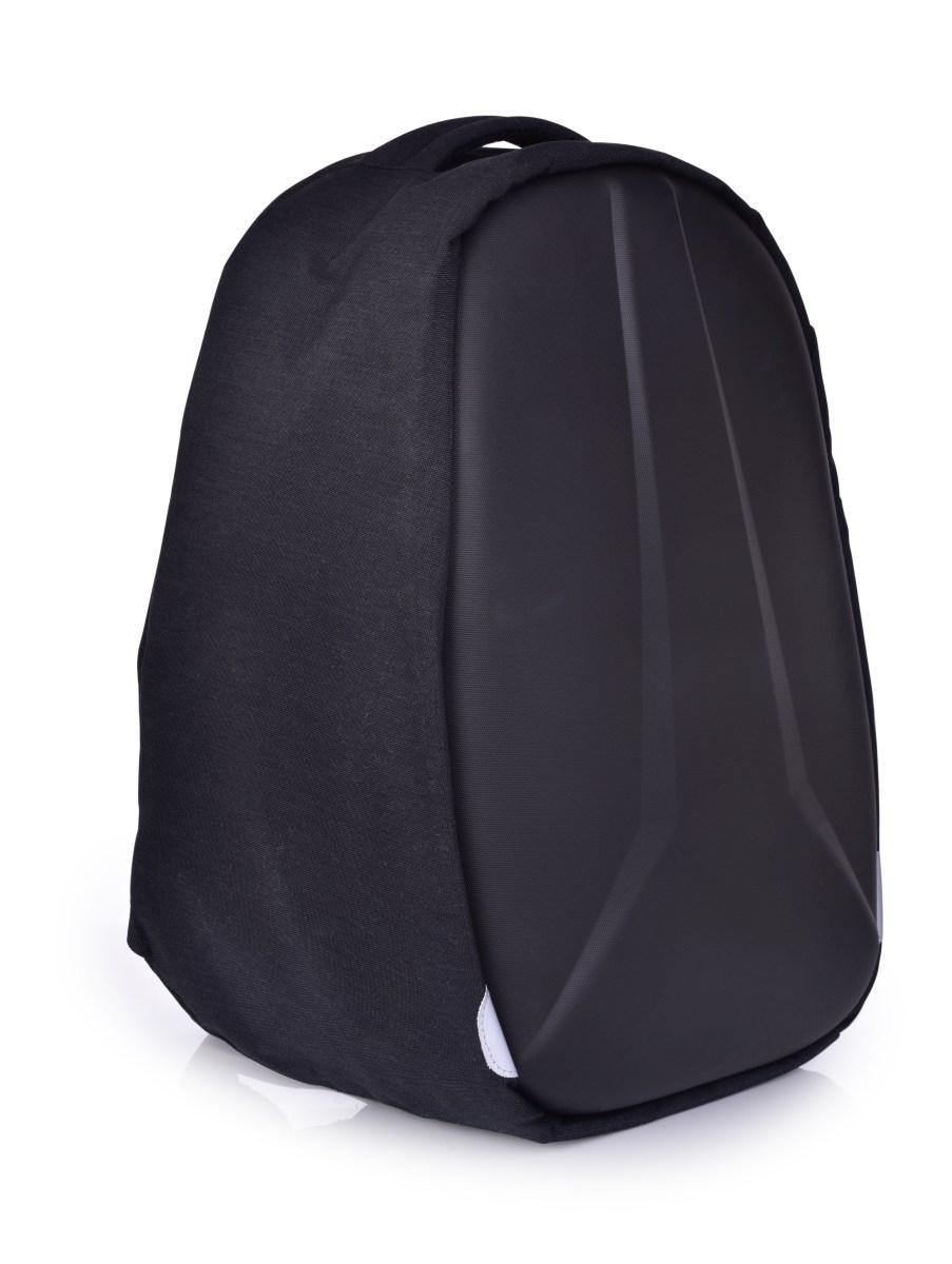 Bezpečný batoh XXL TURTLE s USB připojením a výstupem na sluchátka