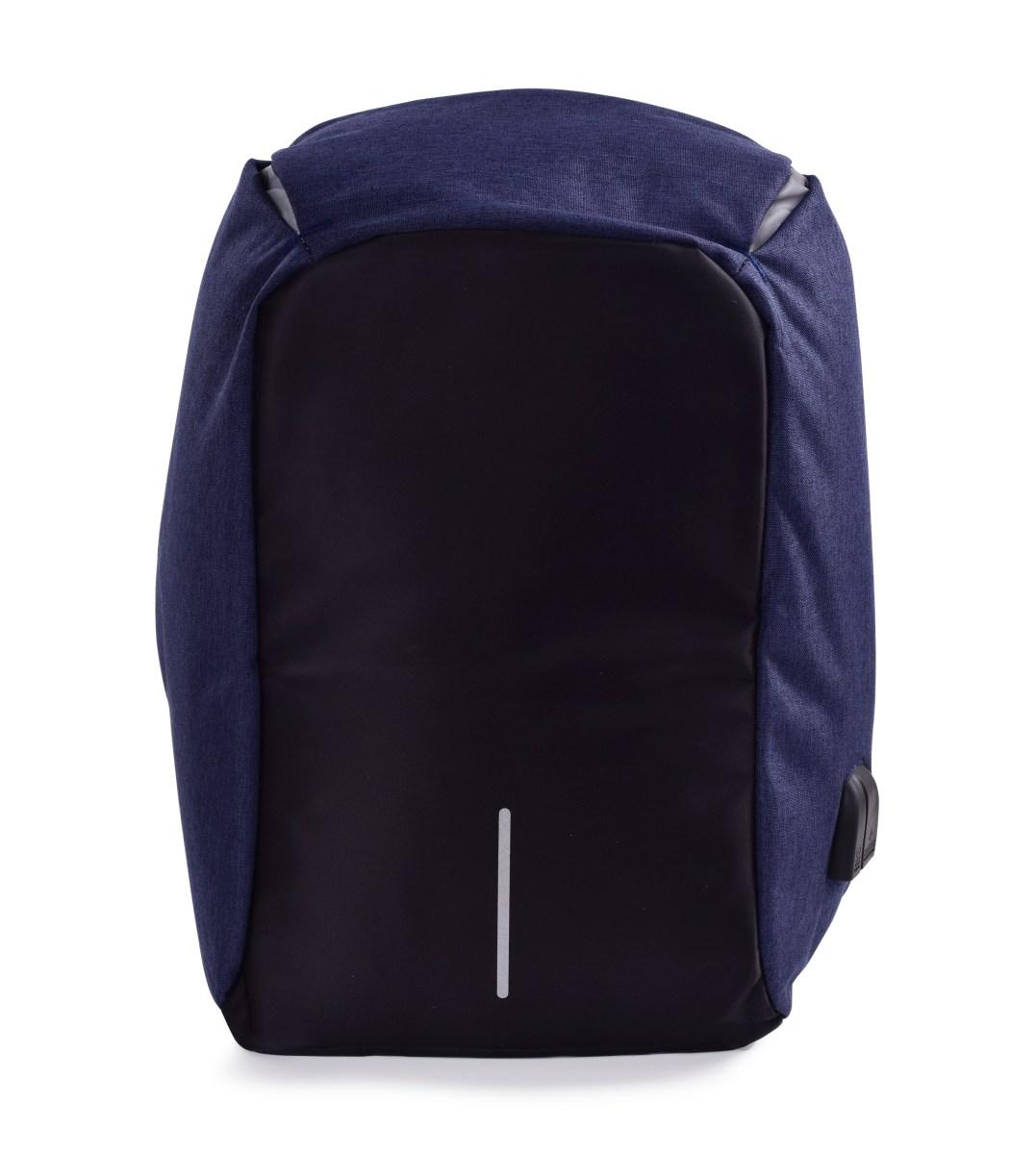 Bezpečný batoh TRAVEL&STUDENT s USB připojením a výstupem na sluchátka