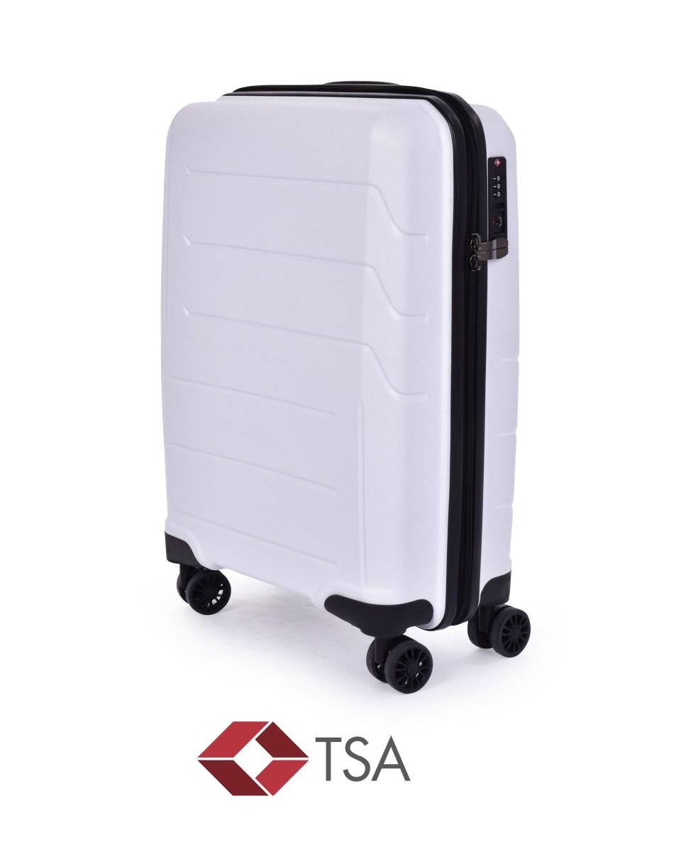 TSA kufr menší, WHITE
