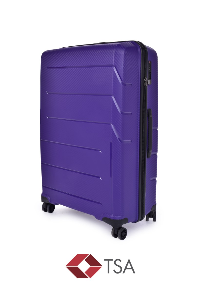 TSA kufr velký PURPLE