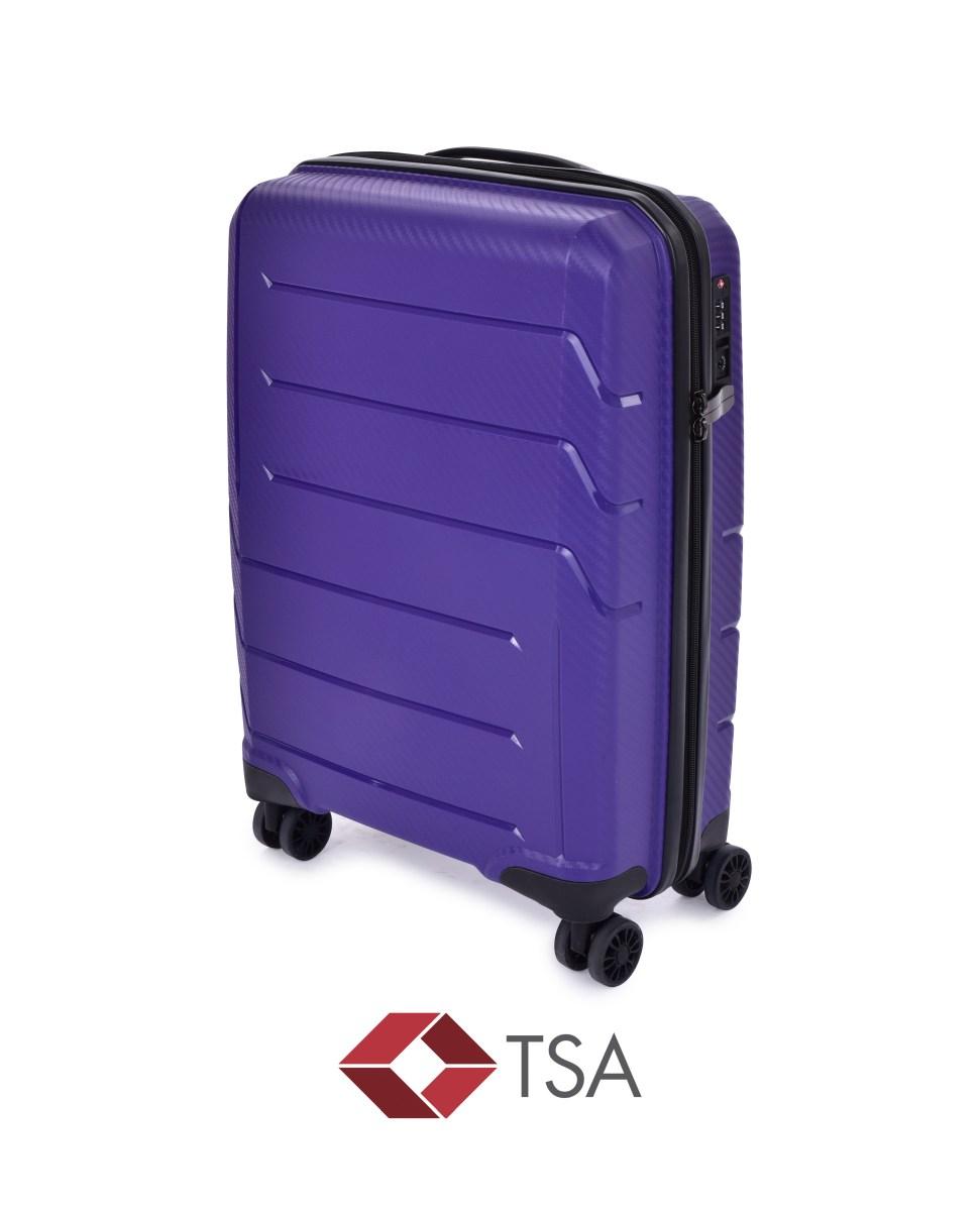 TSA kufr menší, PURPLE
