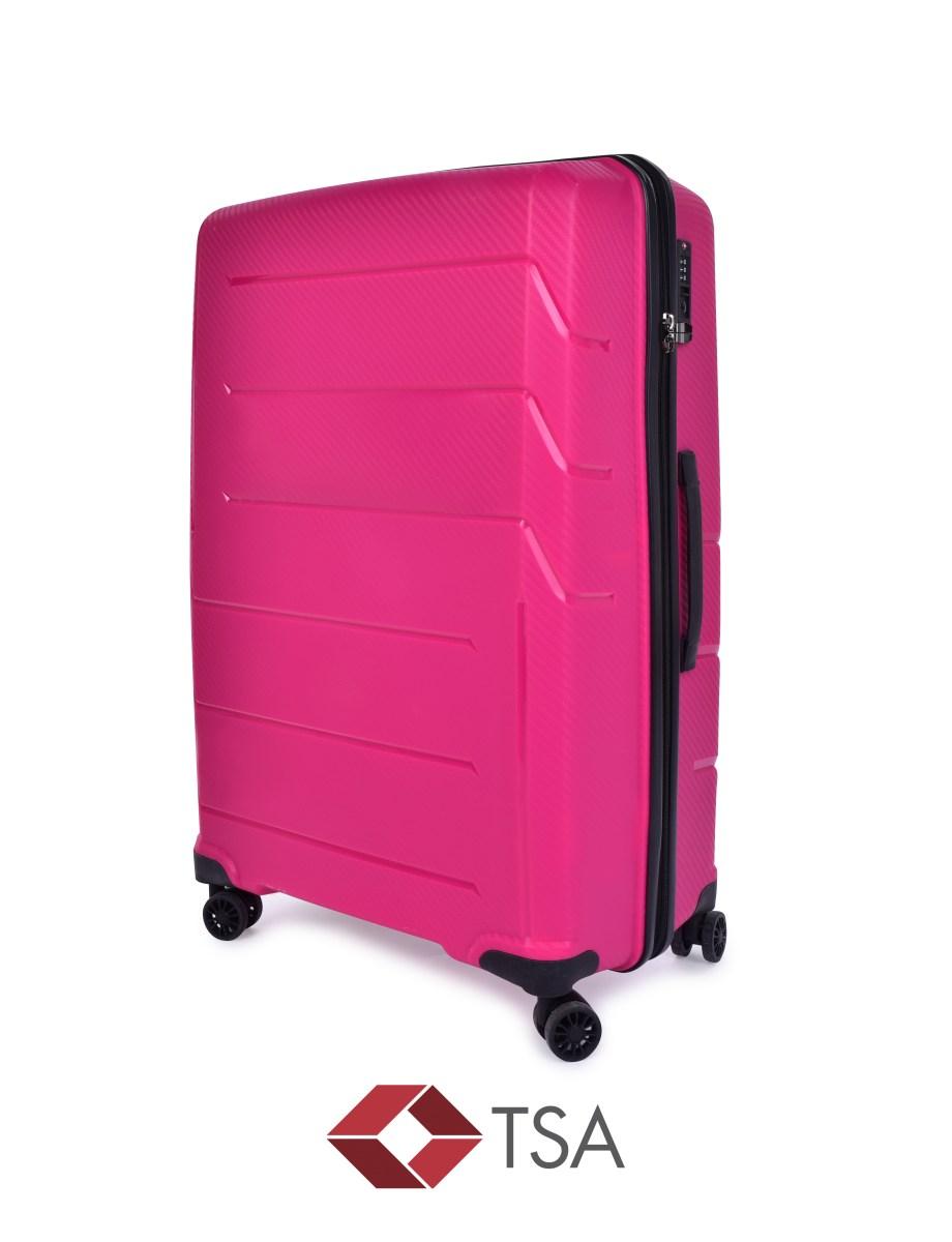 TSA kufr velký FUCHSIA