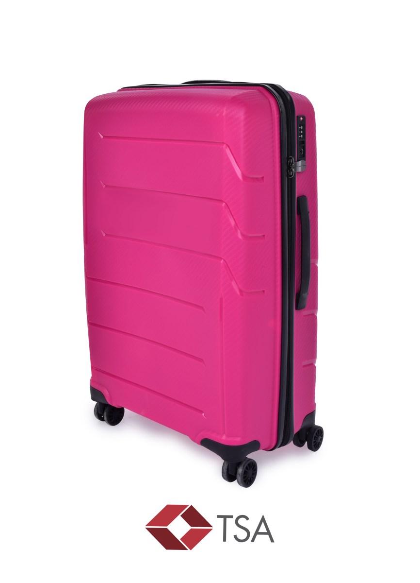 TSA kufr střední FUCHSIA