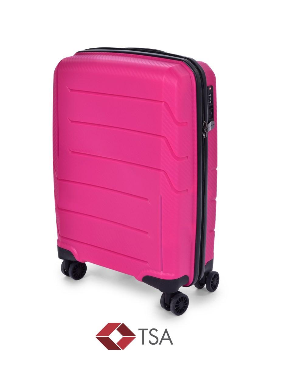 TSA kufor menší FUCHSIA