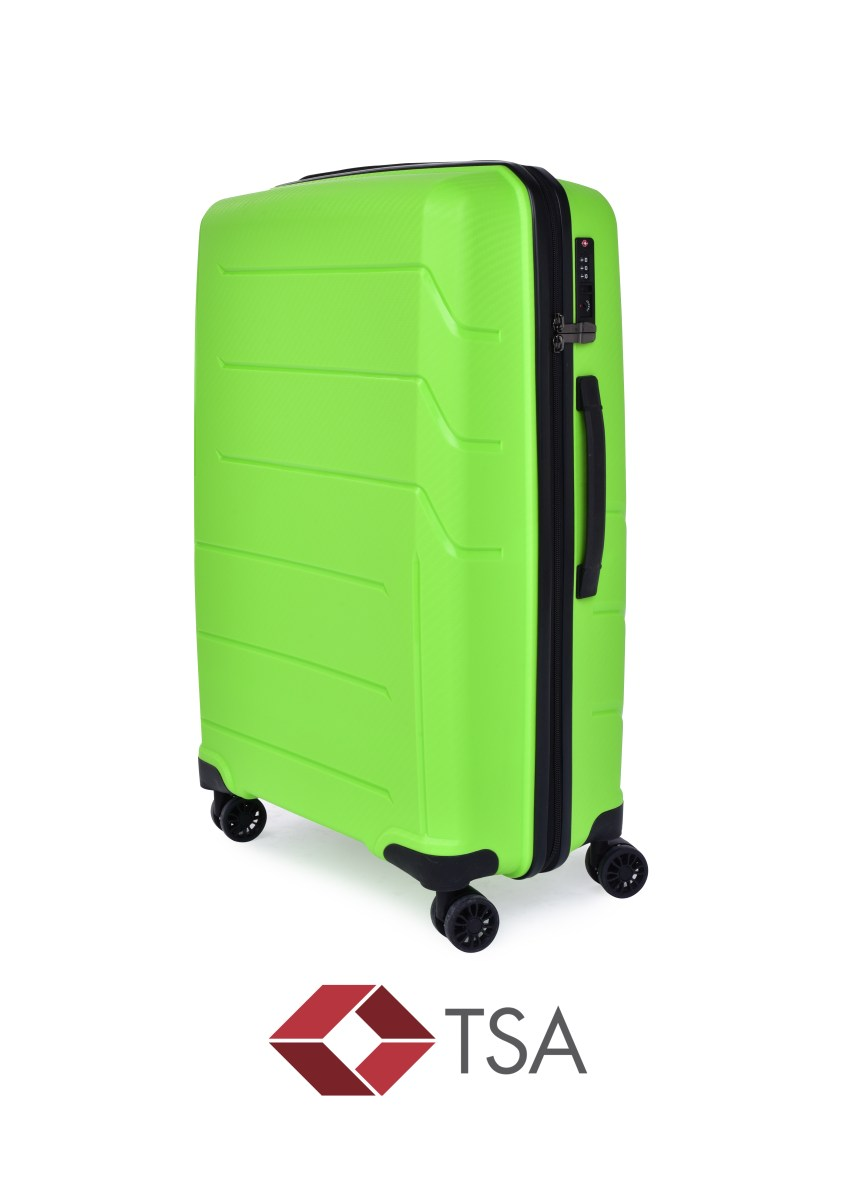 TSA kufr střední GREEN