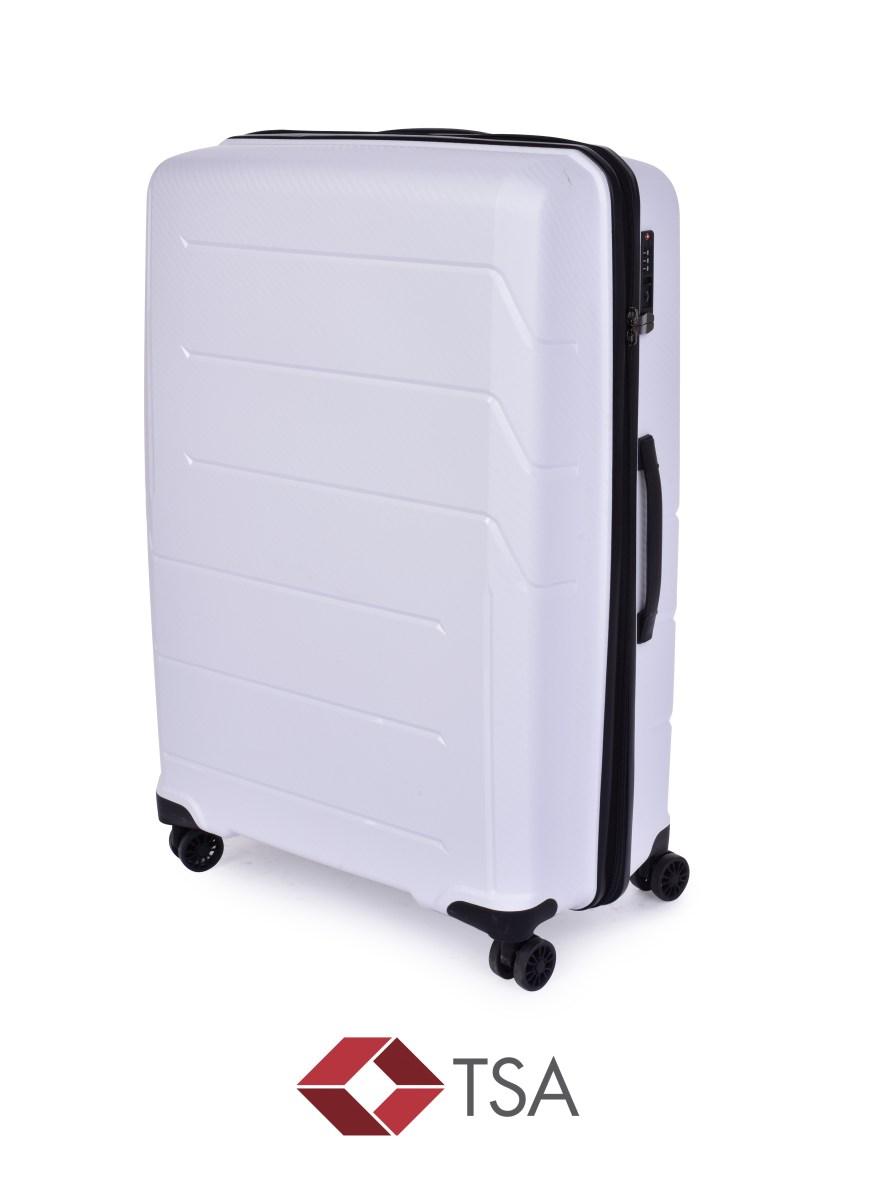 TSA kufr velký WHITE