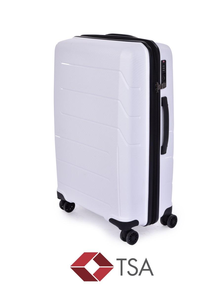 TSA kufr střední WHITE