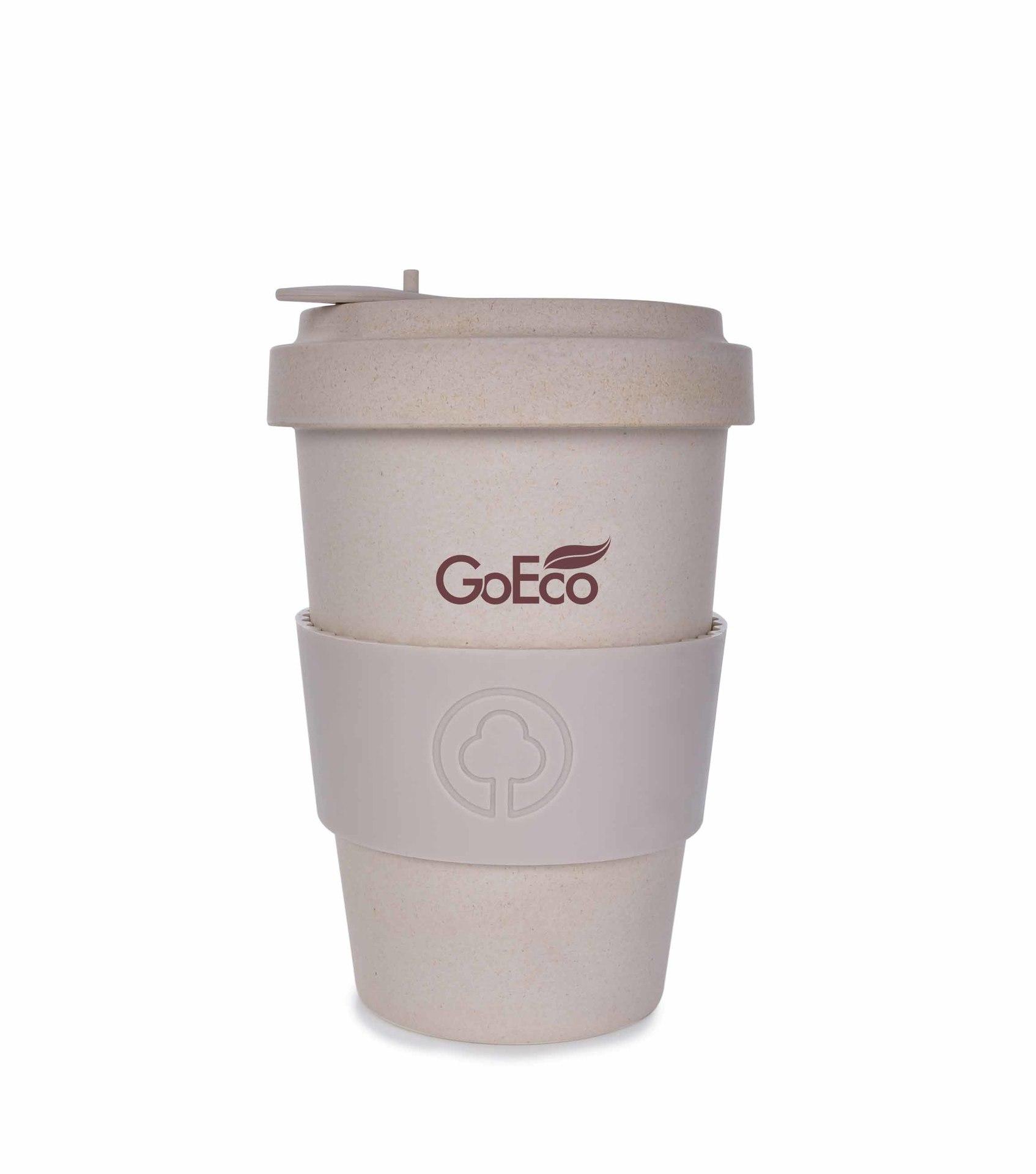 XL KELIMERO® GoEco® 500 ml hrnek a šroubovací víko, s bambusovou vlákninou