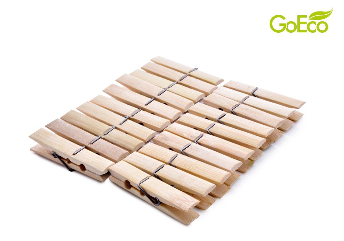 20 ks bambusové kolíčky GoEco