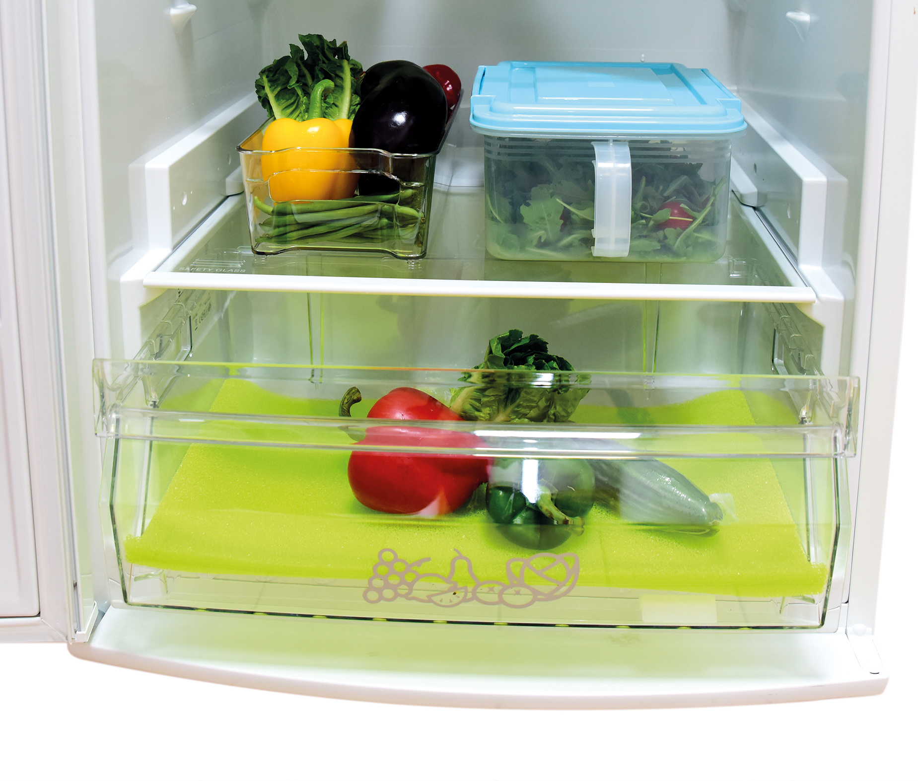 VEGE-FRESH podložka pod zeleninu, prodlouží čerstvost v chladničce