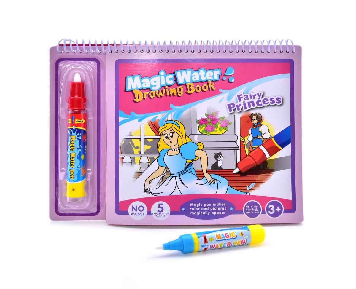 POHÁDKOVÉ PRINCEZNY  kouzelná kreslící vodní knížka