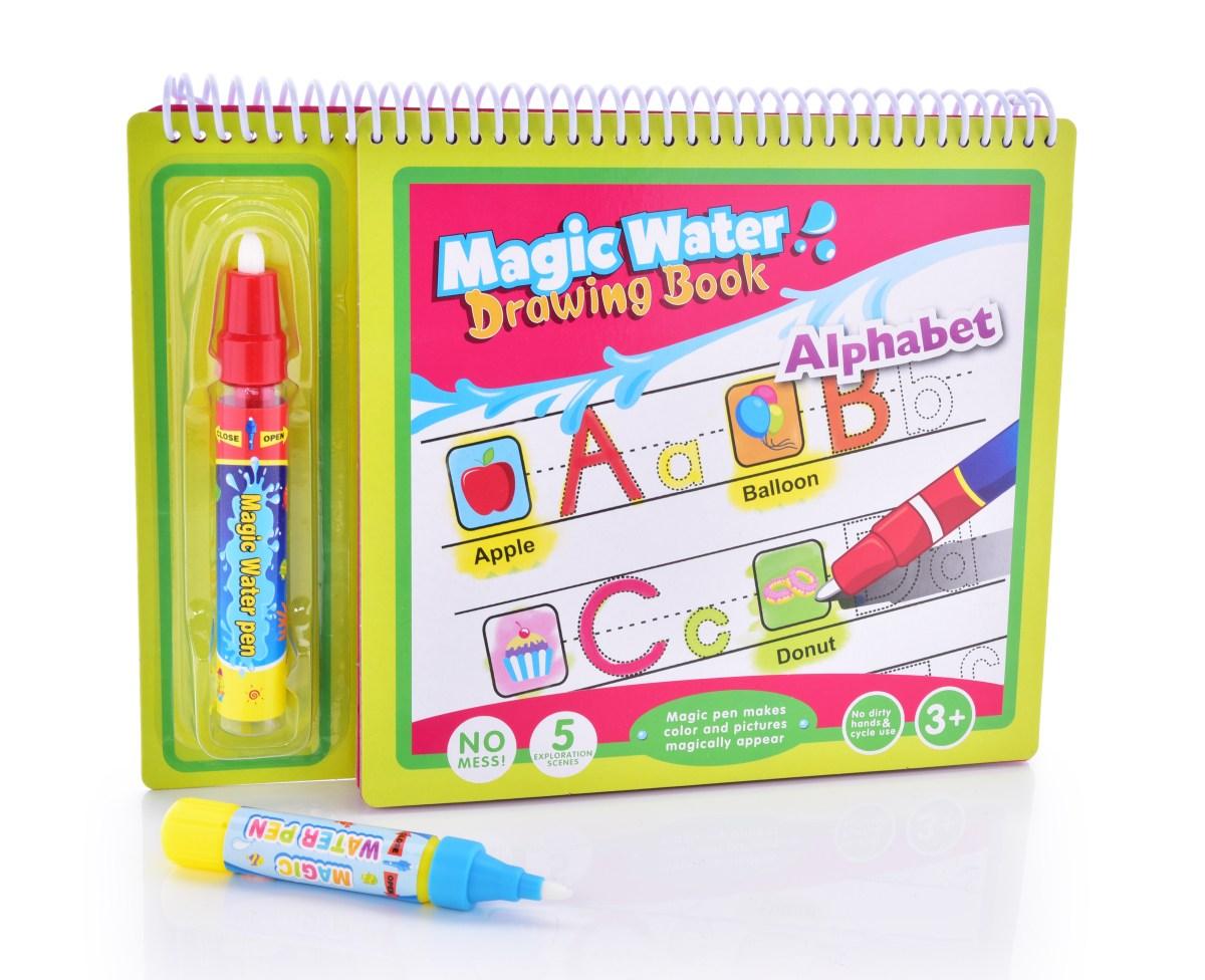 ABECEDA kouzelná vodní knížka kreslící