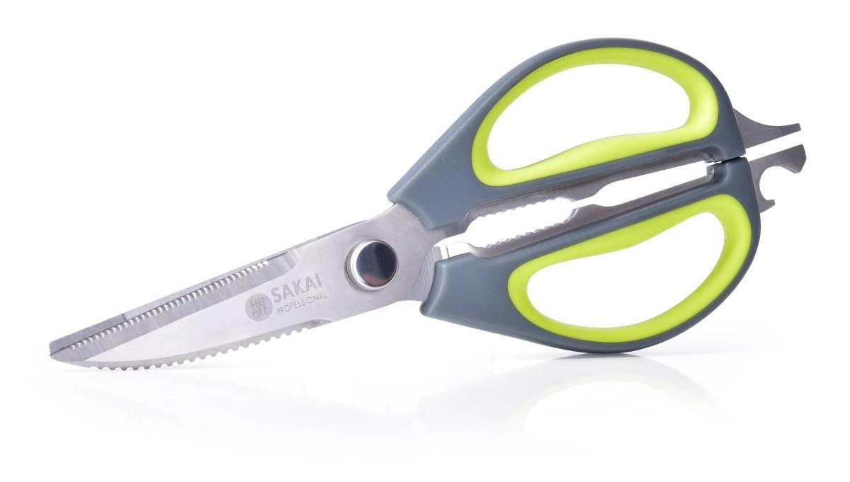 6v1 multifunkční kuchyňské super-nůžky z prvotřídní oceli SAKAI professional