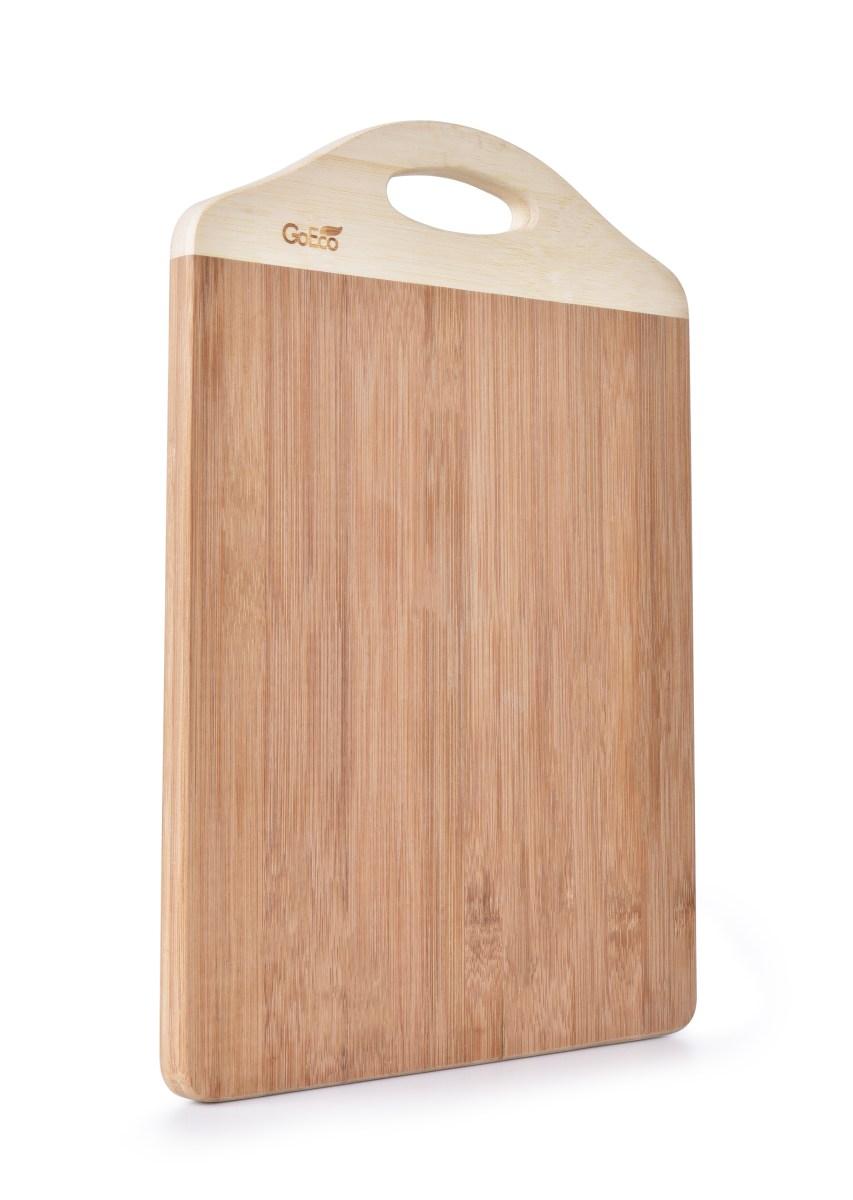 36 cm BAMBUSOWA deska do krojenia, z naturalnego bambusa GoEco(R)