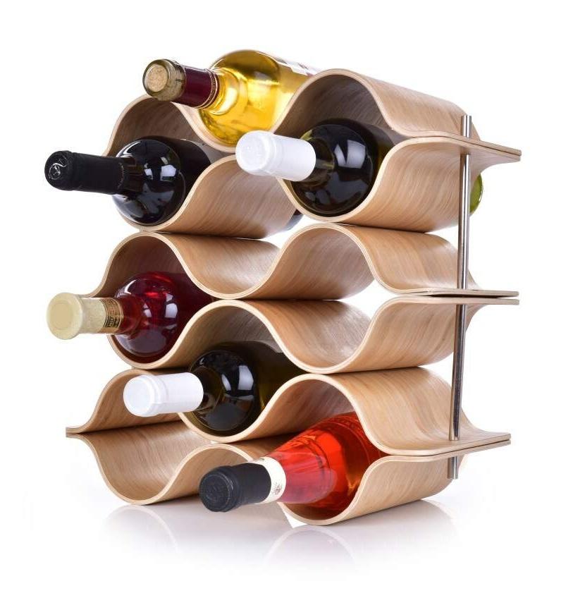 BAMBOO vinotéka/stojan na víno GoEco®
