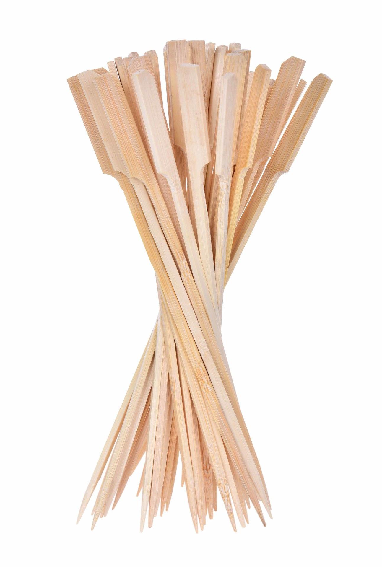 50 ks velká napichovátka z bambusu  s rozšířeným koncem GoEco®