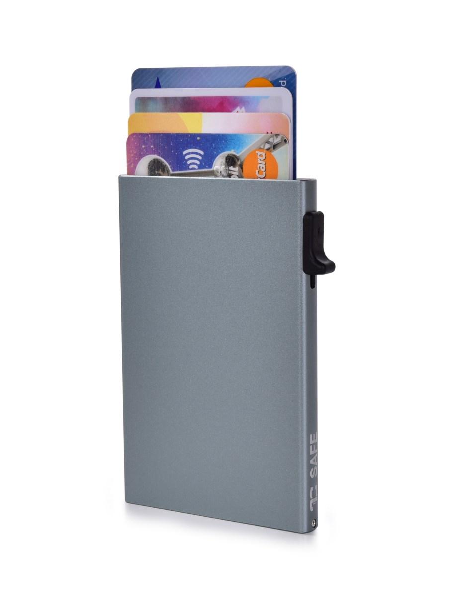 FC SAFE ochranné pouzdro pro platební karty  grey silver
