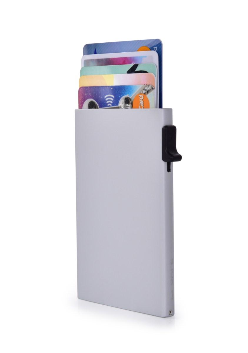 FC SAFE ochranné pouzdro pro platební karty  silver