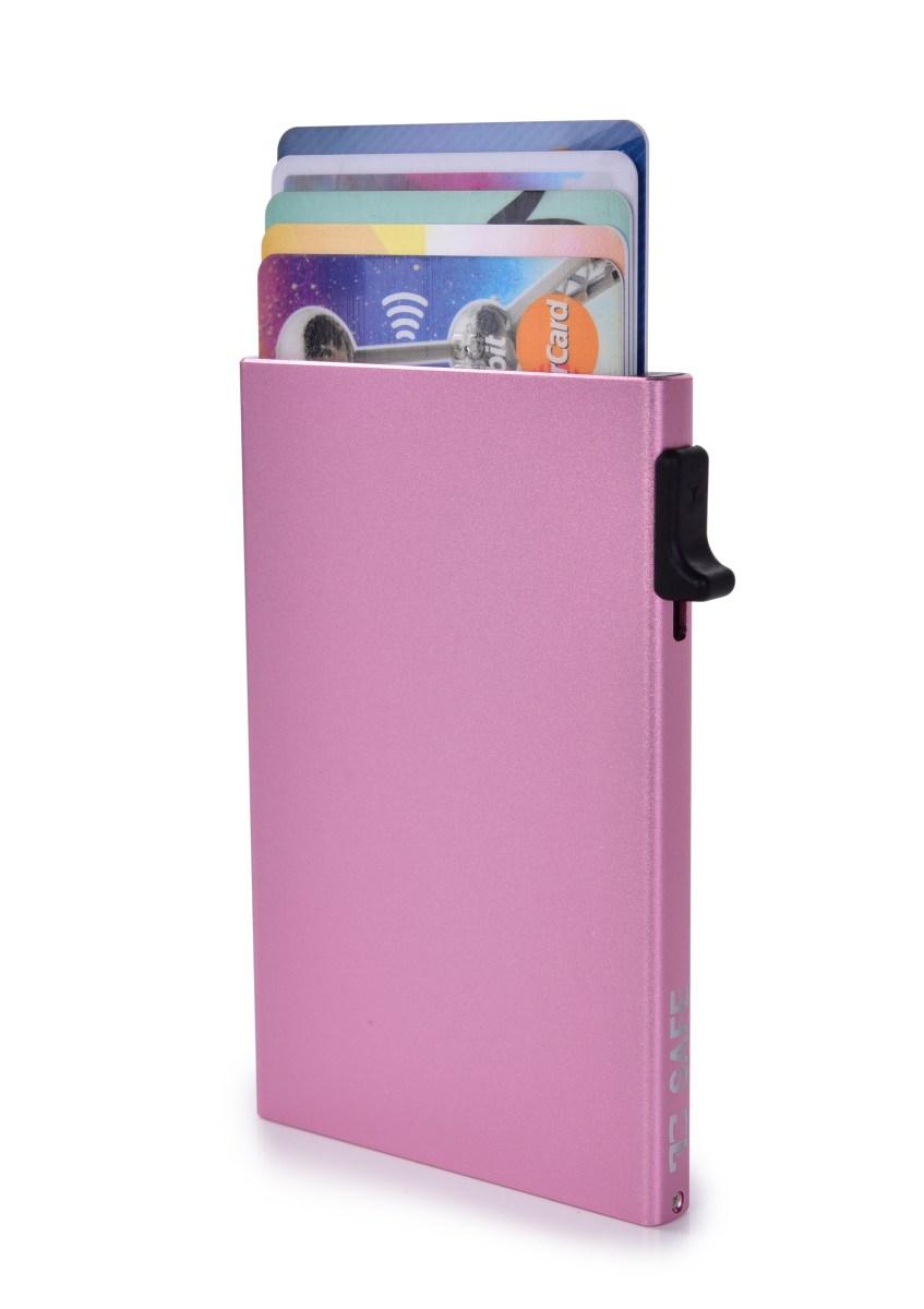 FC SAFE ochranné pouzdro pro platební karty  pink