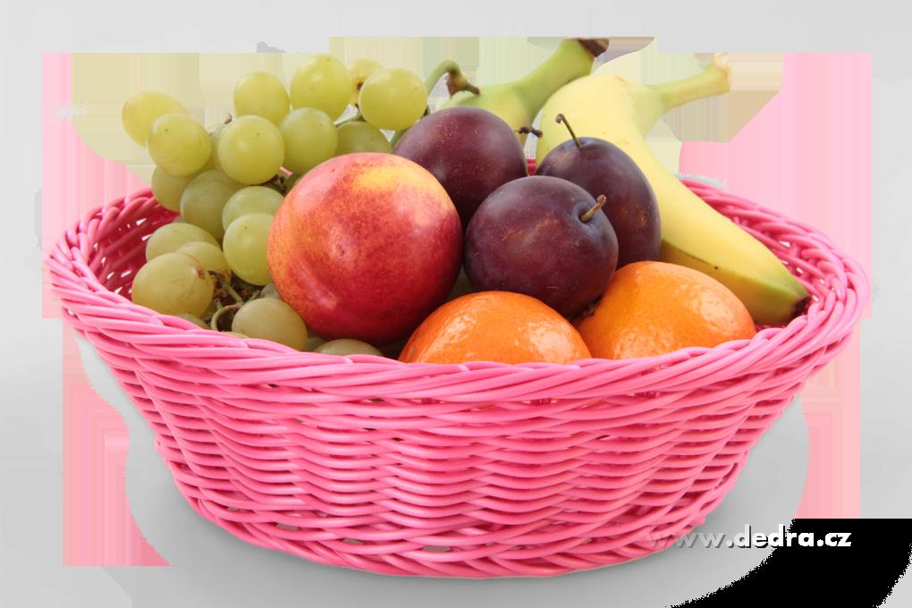 Plastová ošatka na pečivo,ovoce, omyvatelná