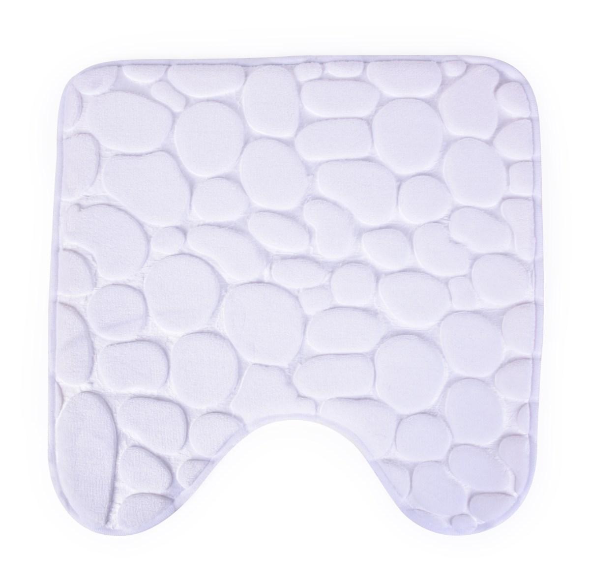 WC predložka 45x45 cm - biela