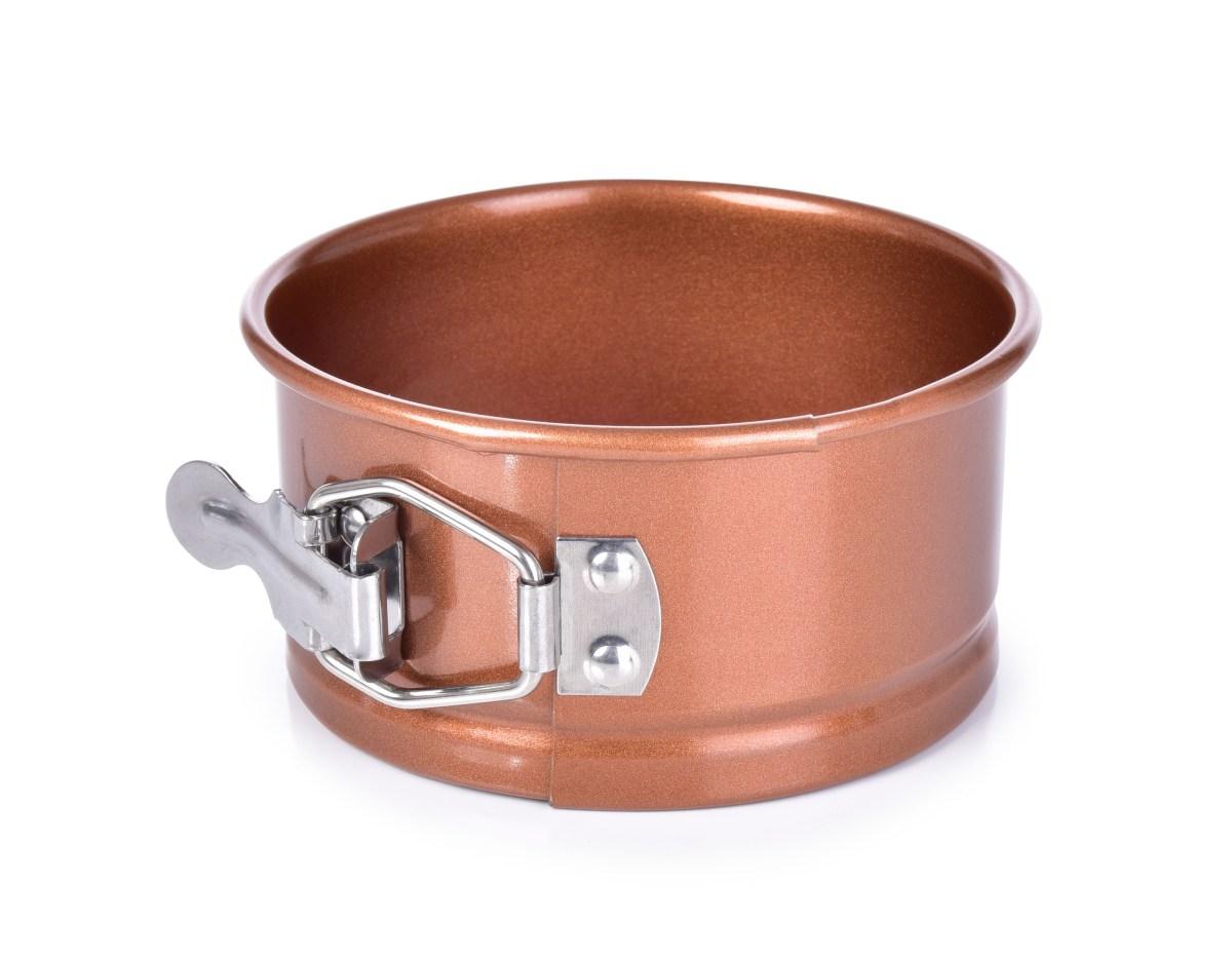 DORTOVÁ rozkládací forma, ø 11 cm, BIOPAN® GOLD, kulatá