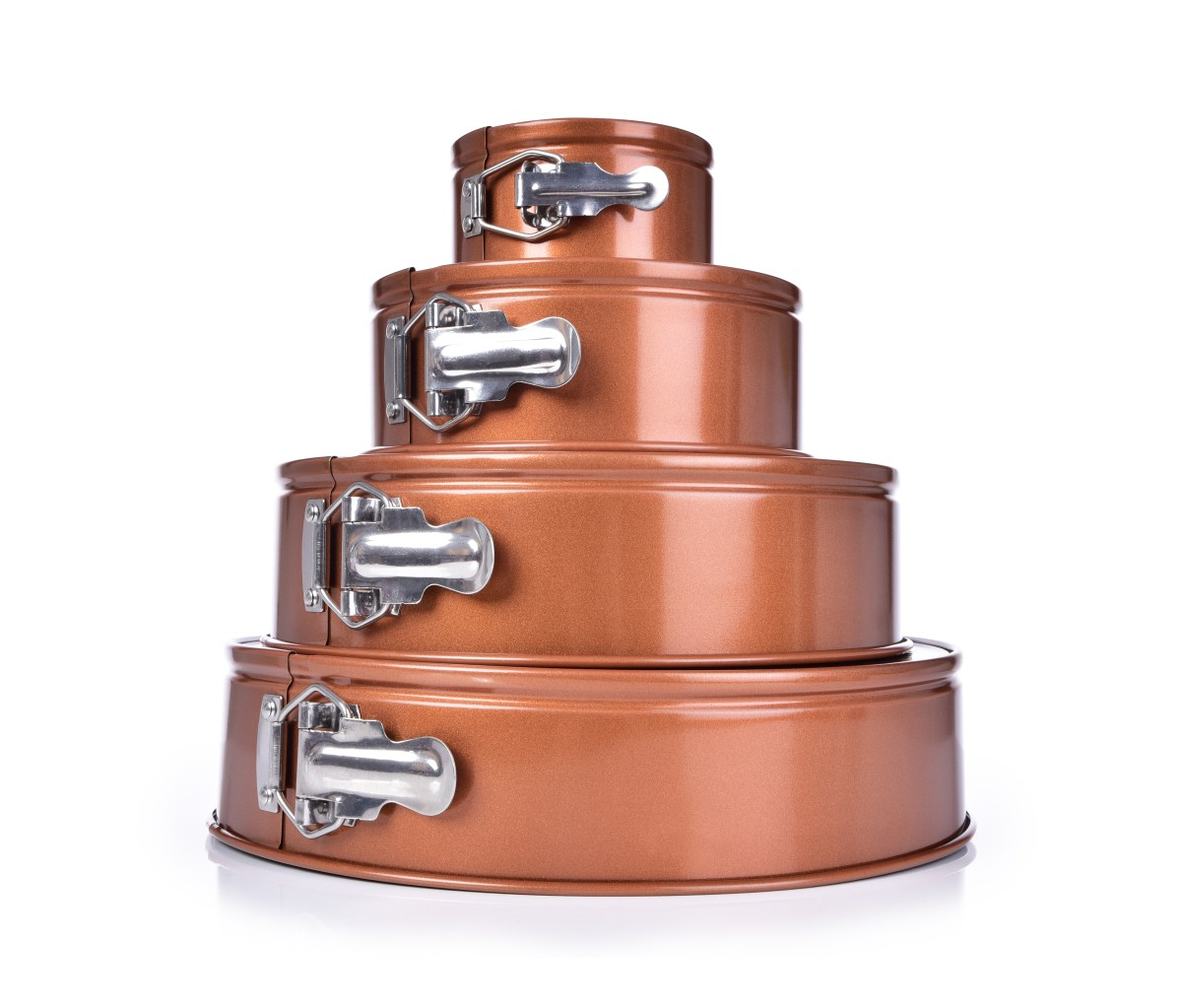 DORTOVÁ rozkládací forma, ø 24 cm, BIOPAN® GOLD, kulatá
