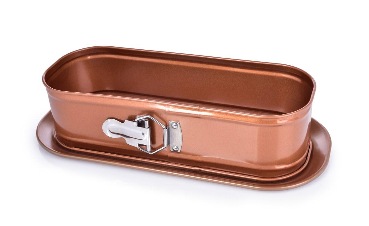 34 cm VELKÁ oválná rozkládací forma BIOPAN® GOLD