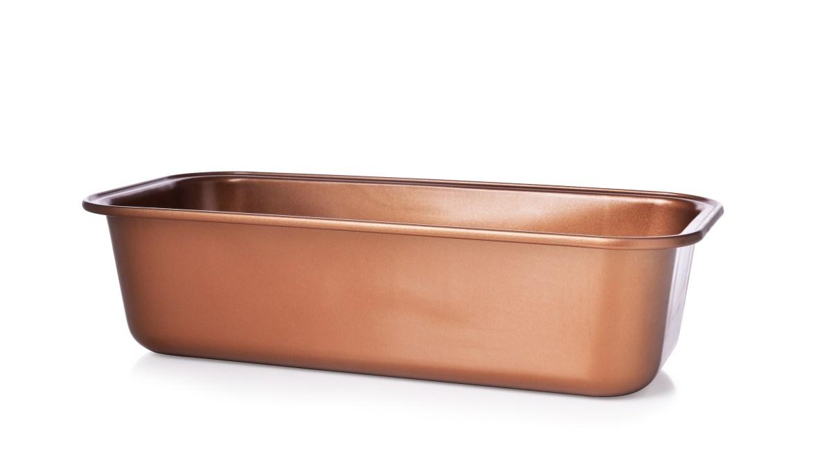 27 cm chlebová forma, tvar CIHLA, objem 1600 ml, BIOPAN® GOLD