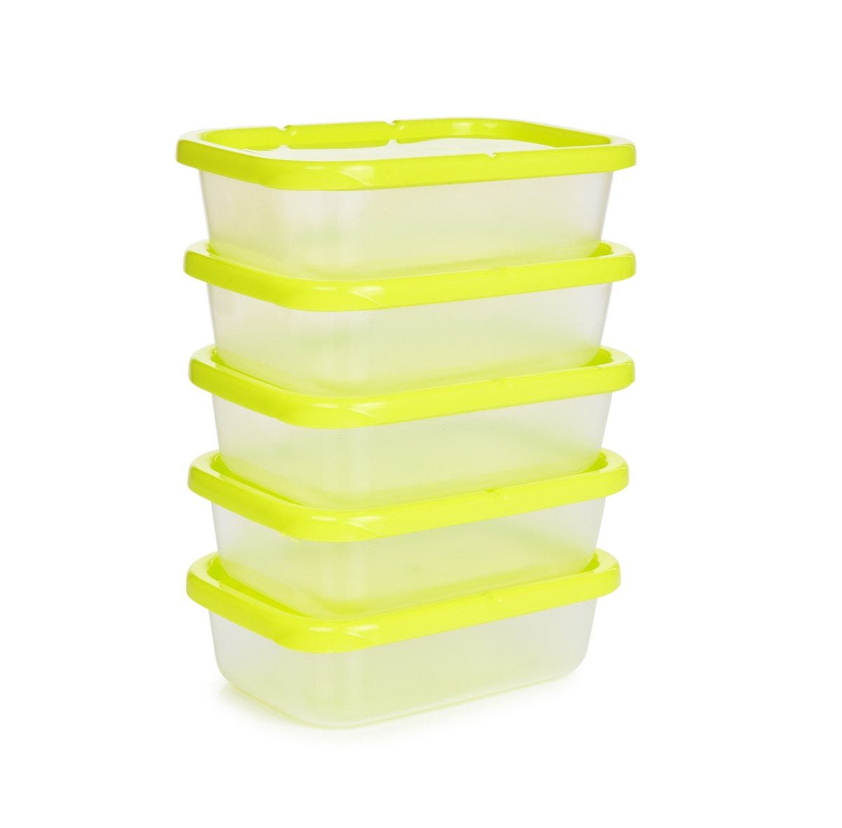 5 ks dóza na potraviny GREENBOX 300 ml, z odolného plastu