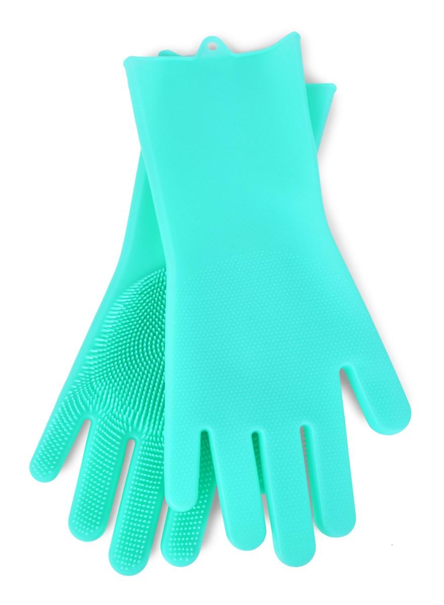 2 KS SILISASANKA, silikonová rukavice na mytí povrchů