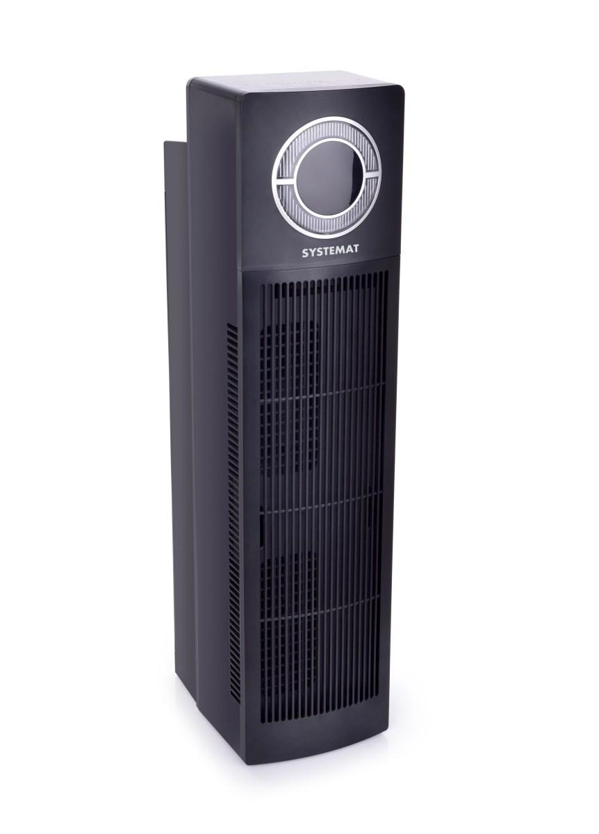 2v1 čistička vzduchu, HEPA H13 filtr, na prach, pyl a roztoče i viry, HEPA CARE SYSTEMAT