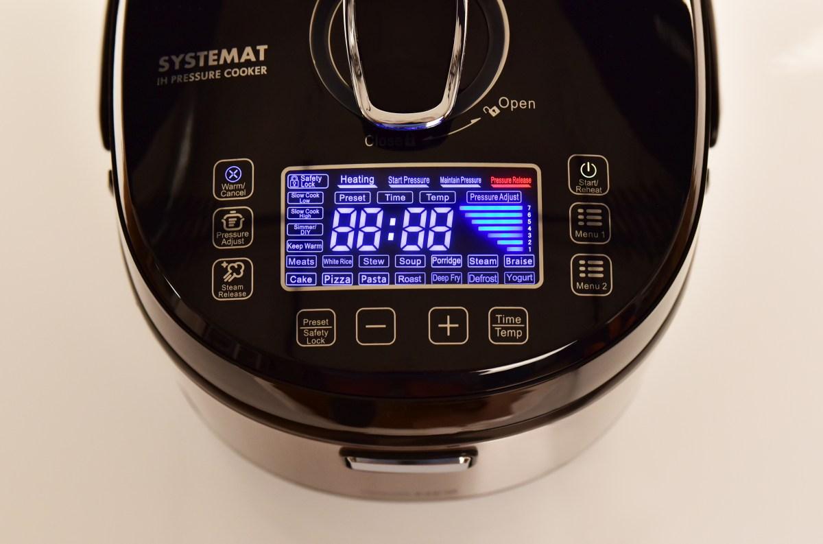 16v1 COMBIVAR® INDUCTION NEO multifunkční varné a tlakové centrum, indukční