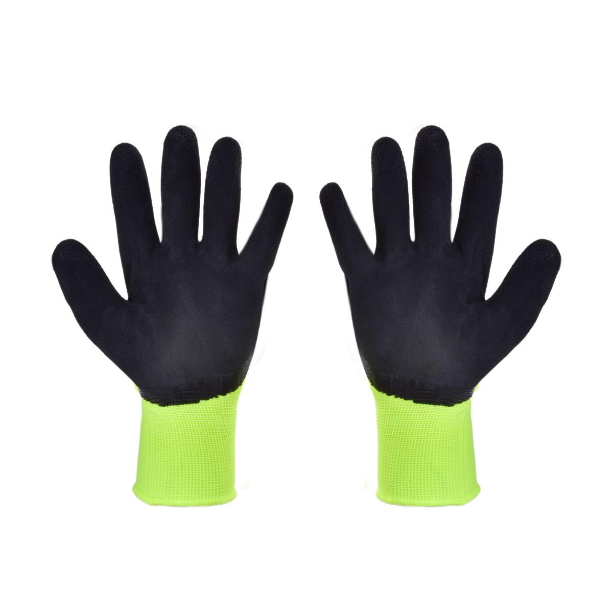 DÁMAVICE, dámské pracovní rukavice, pogumované, pružné