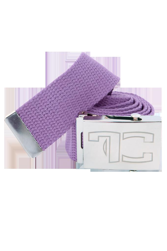 Textilní opasek, UNISEX, fialový