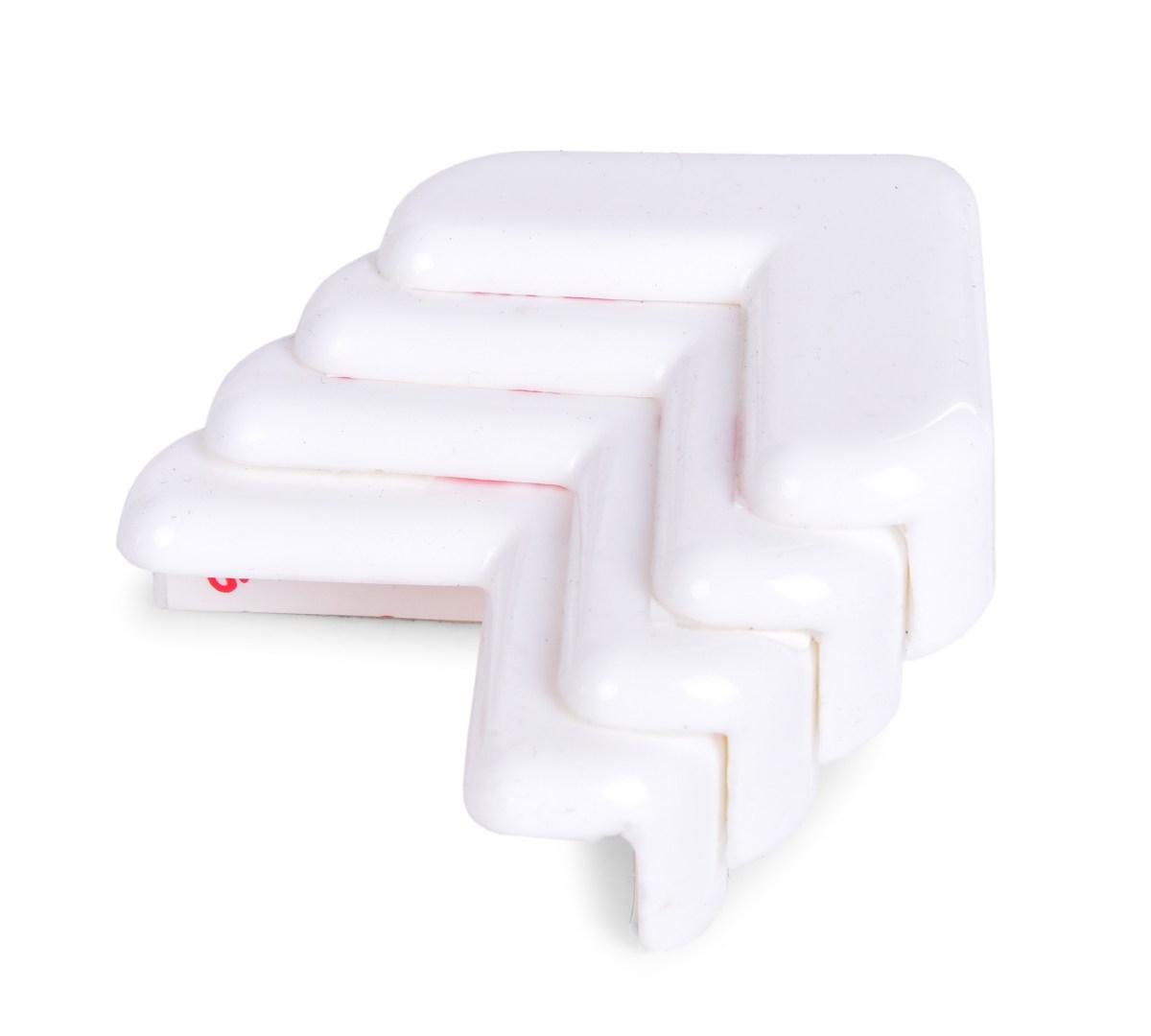 Tlmiace nárazník na rohy nábytku, samolepiaca - 4ks