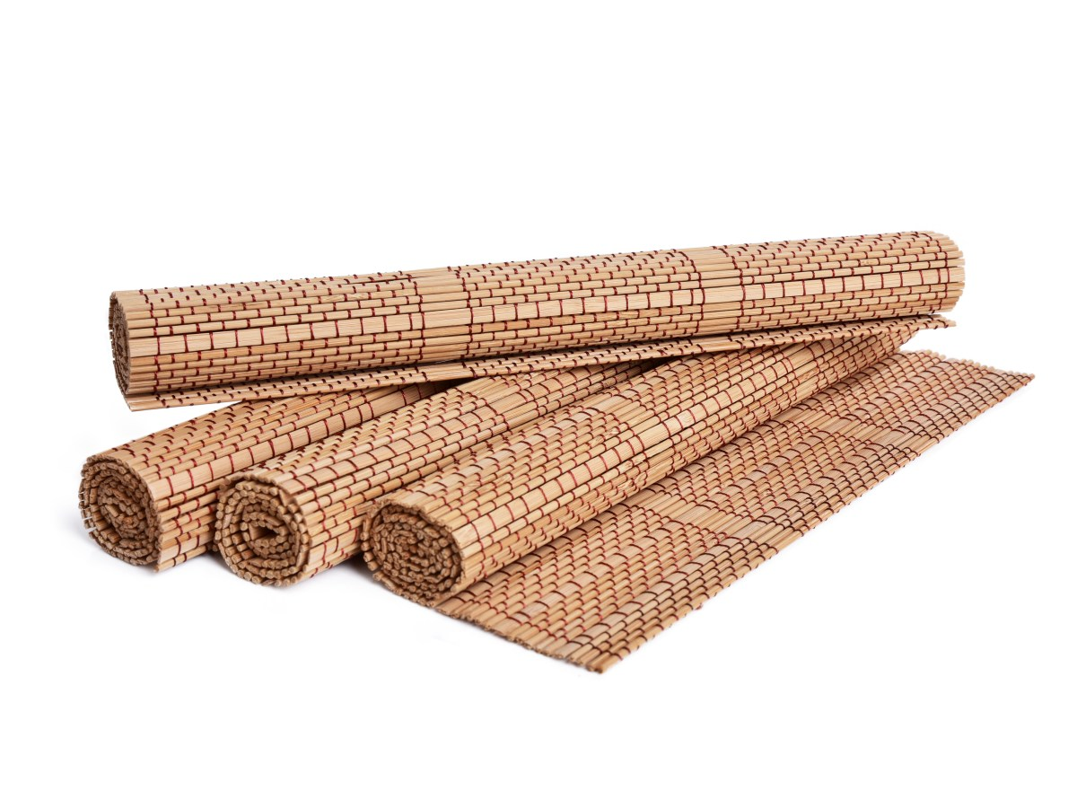 Bambusové prestieranie GoEco®, 45 x 30 cm - 4 ks