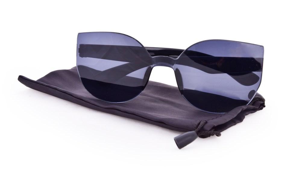 Kočičí sluneční brýle, 100% UV ochrana