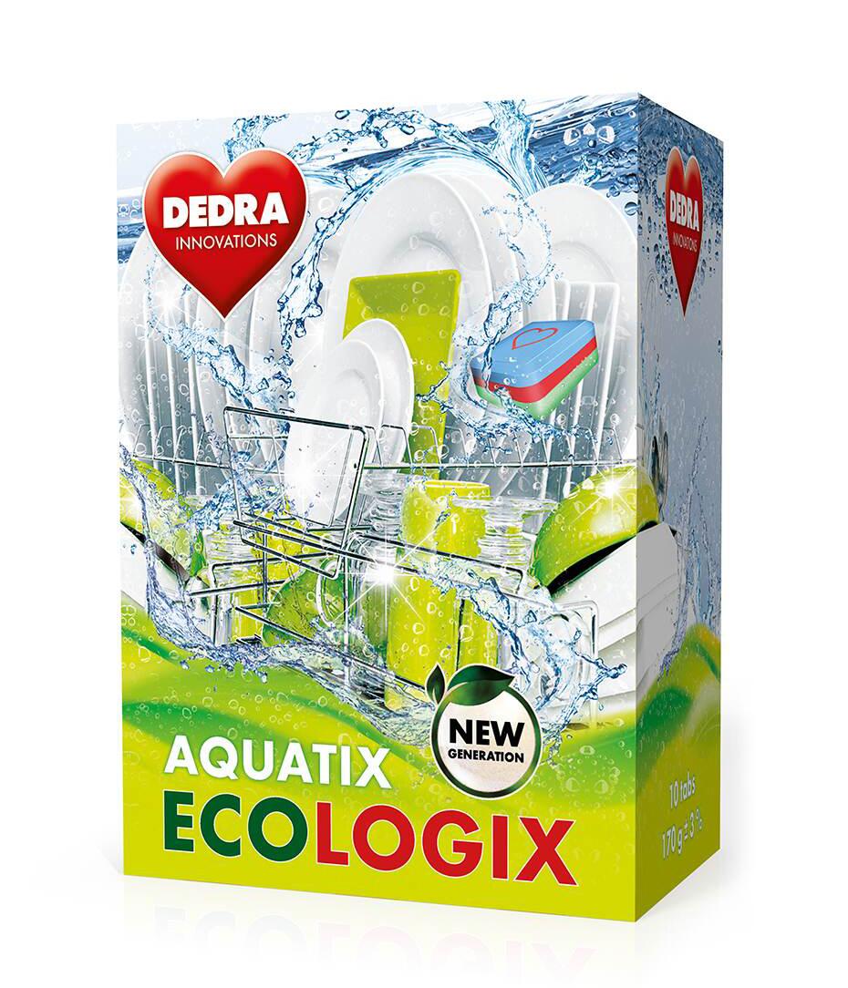 Multifunkční TABLETY do myčky AQUATIX ECOLOGIX