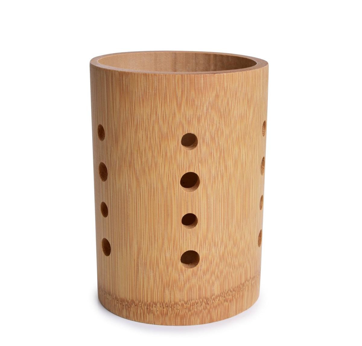 Bambusový stojan na príbory a kuchynské náradie GoEco®
