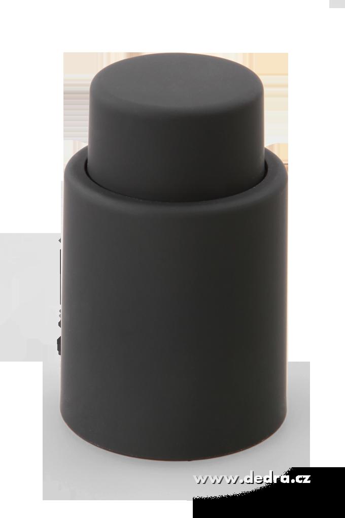 FLAŠKÁTOR vakuový uzávěr na lahve černý
