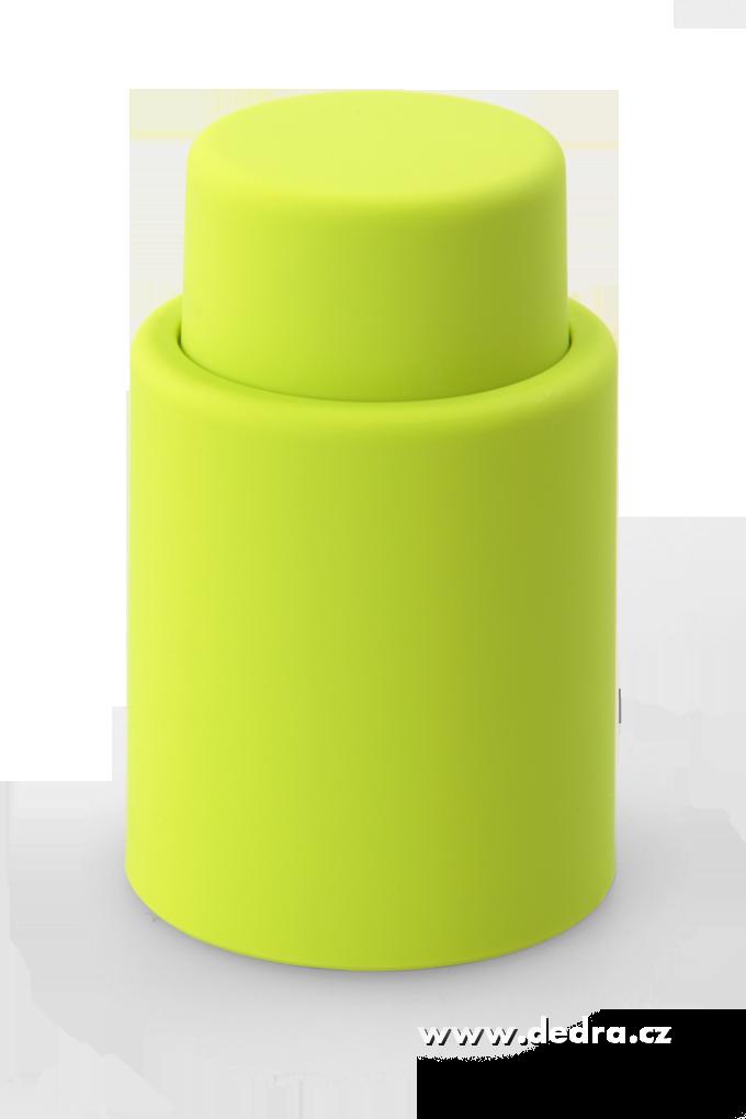 DA5753-FLAŠKÁTOR vákuový uzáver jasne zelený