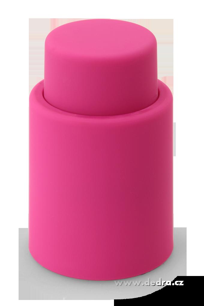 DA5754-FLAŠKÁTOR vákuový uzáver na fľaše fuchsiovej