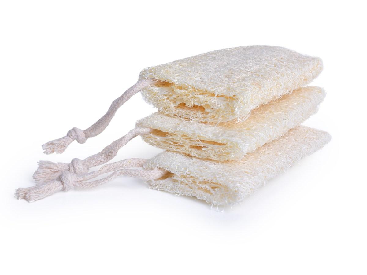 3 ks LUFA přírodní mycí houba GoEco®