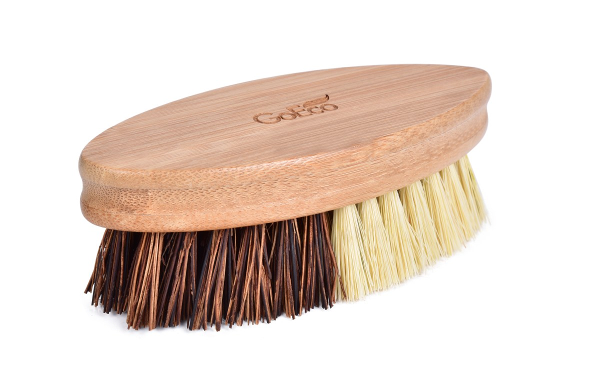 Bambusová kefa so štetinami zo sisalu a palmových vlákien GoEco®
