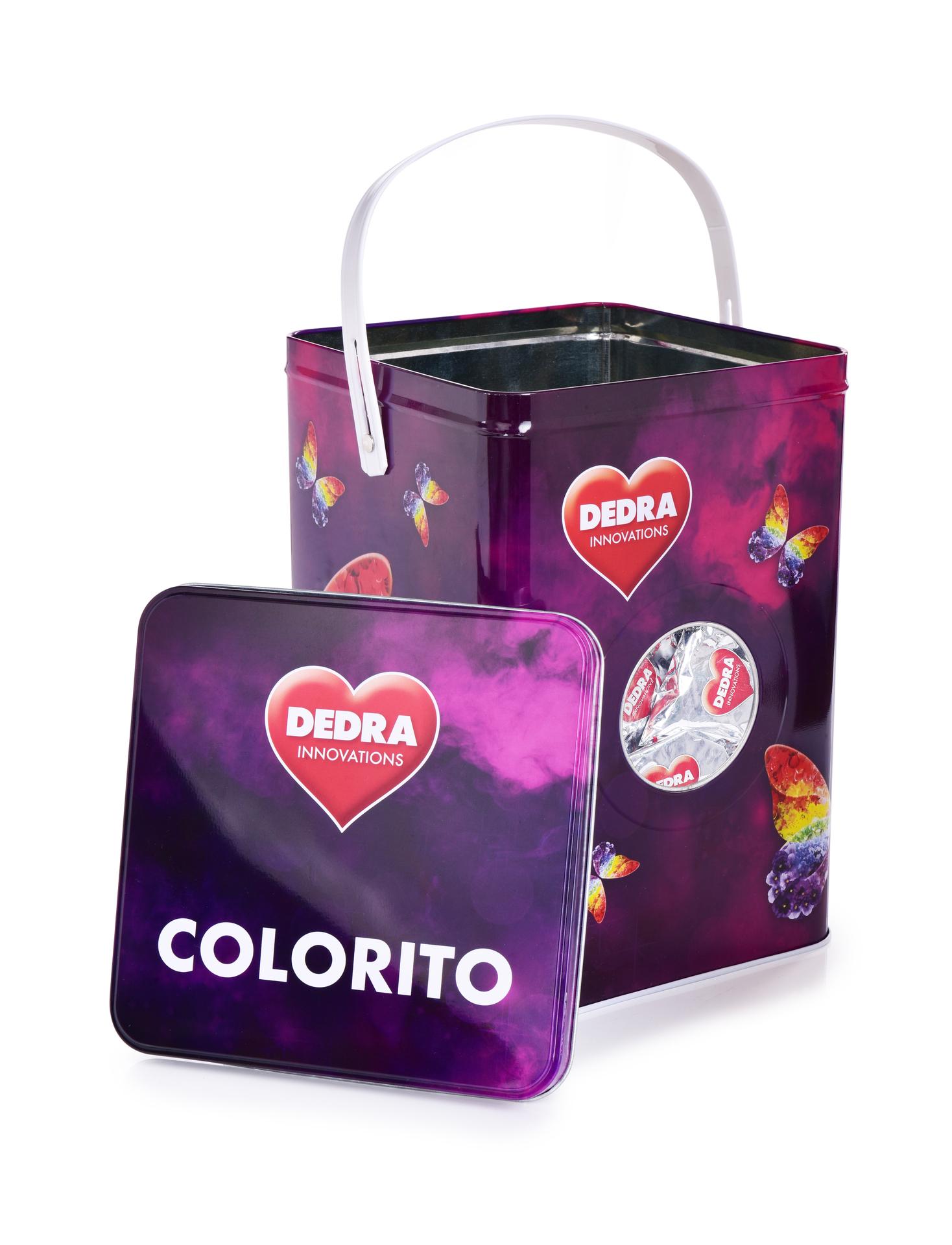 TABLETY na barevné prádlo ECOTABS COLORITO + dóza ZDARMA koncentrované